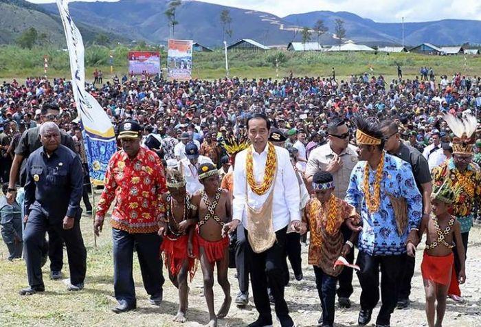 Papuans loves Jokowi