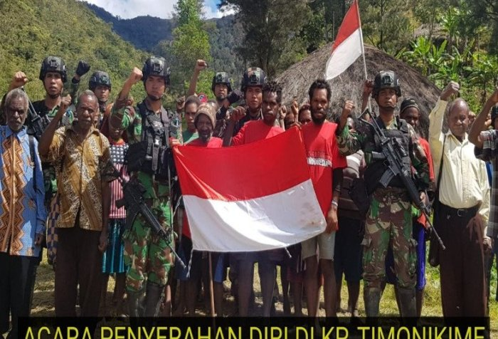 Papua armed criminal group