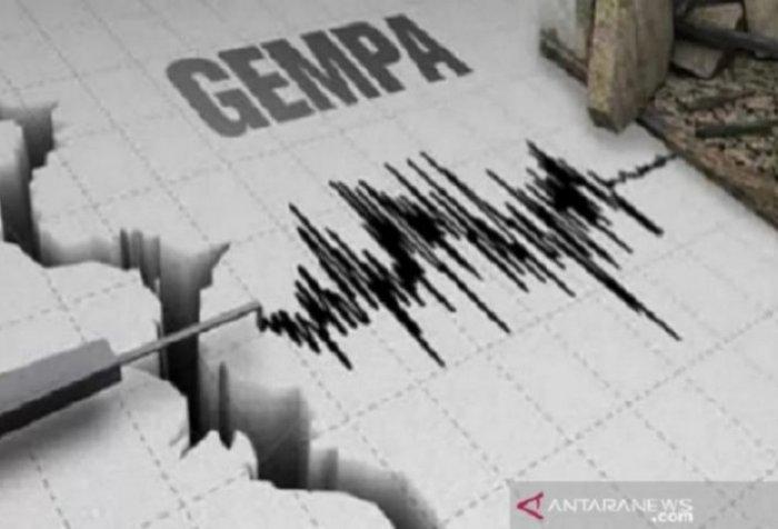 Two earthquakes in Jayapura district