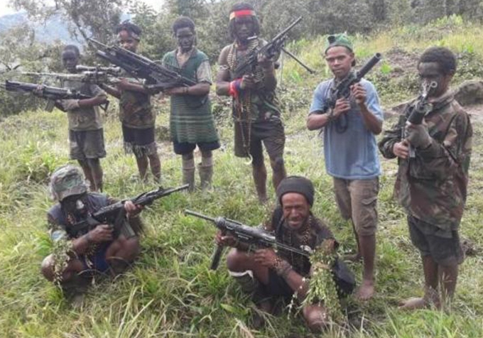 Illegal firearms transaction in Papua