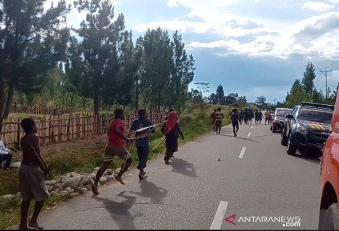 Papua traditional war