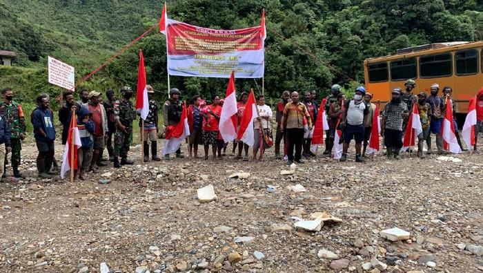 Tembagapura residents against separatism