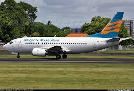 The Merpati Nusantara Airlines Boeing 737