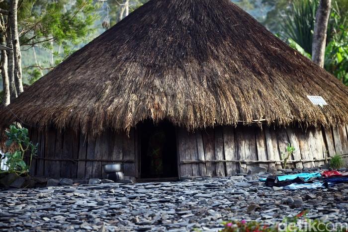Papuan Honai Traditional House