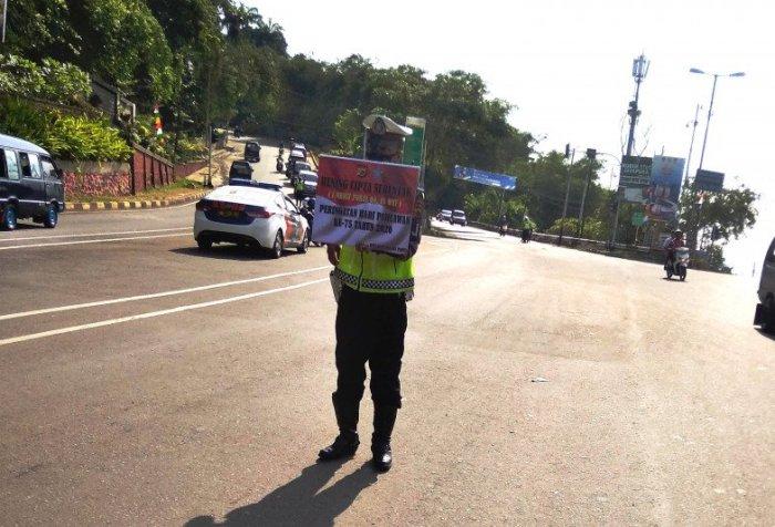 Heroes' Day in Jayapura City