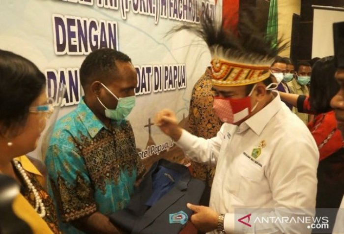 Religious Affairs Minister Fachrul Razi - scholarships for West Papua