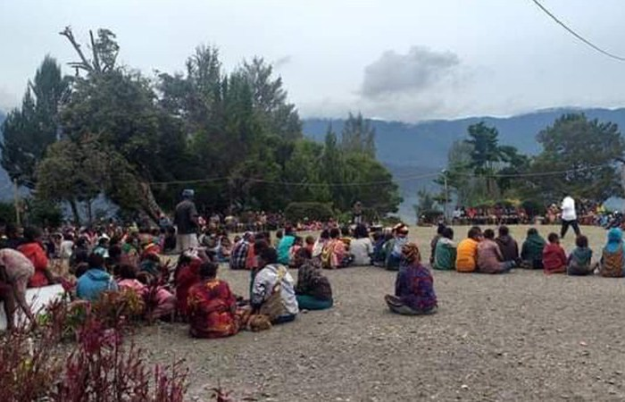 internally displaced people in Papua