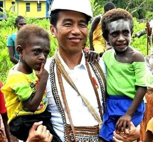 President Jokowi - Wes Papua