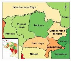 Tolikara Map - West Papua Traditional Wisdom