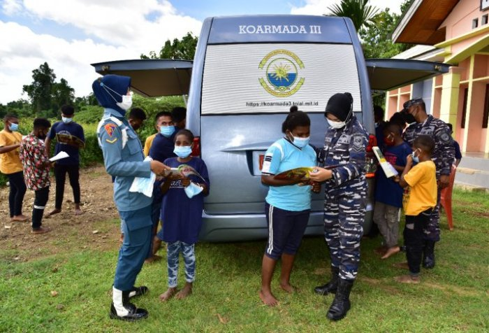 West Papua mobile library