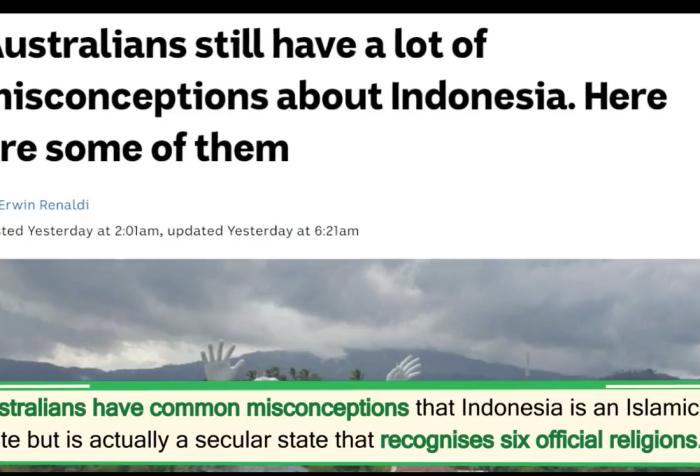 West Papua separatists' deceptions