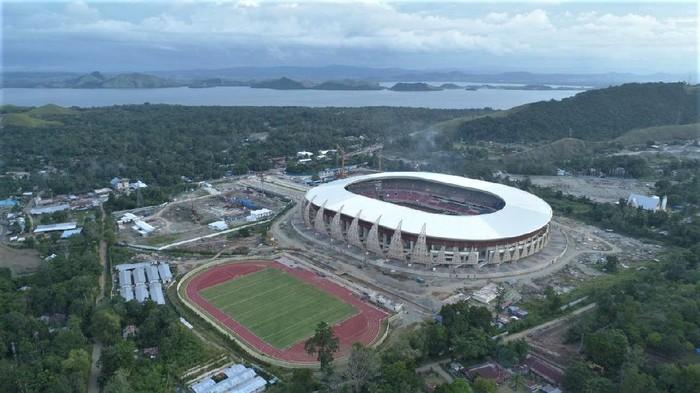World class stadium in Papua