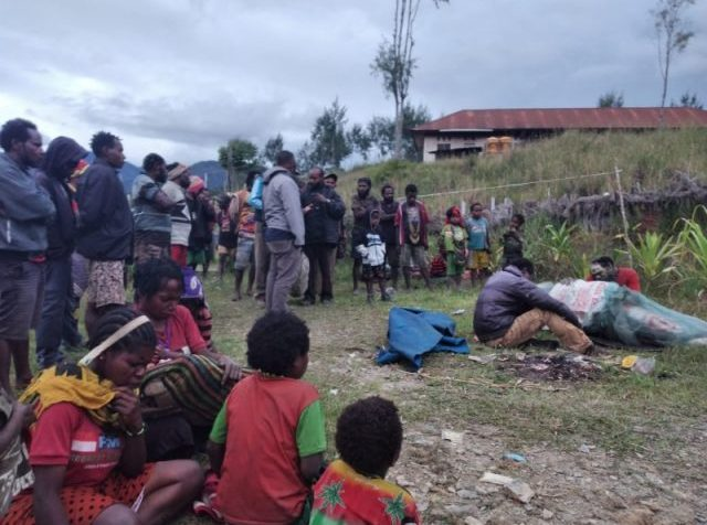 terrorized Papuans in Intan Jaya