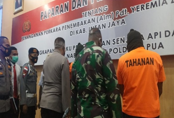 Arms trafficking in Papua