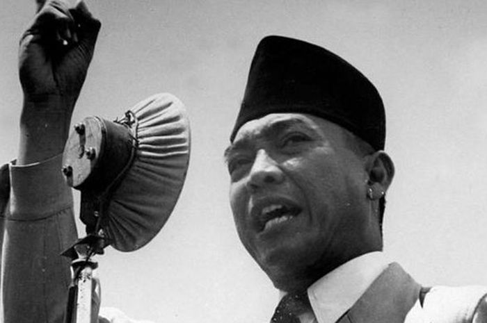 Indonesia's first President, Ir. Sukarno on West Papua