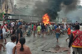 Deadly riots instigated by 7 Papuan criminals