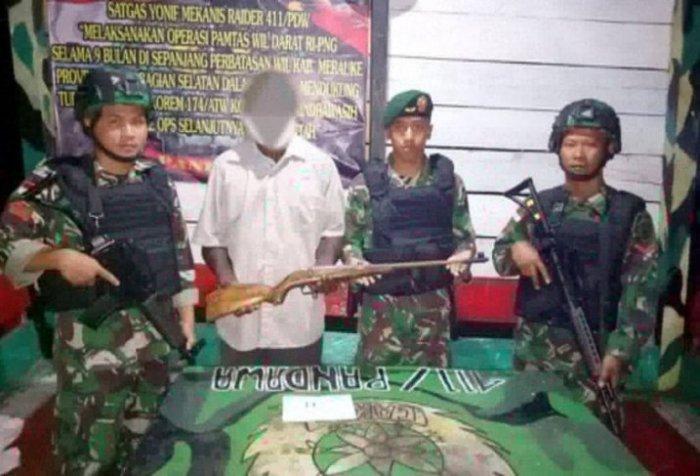 armed West Papuan rebels
