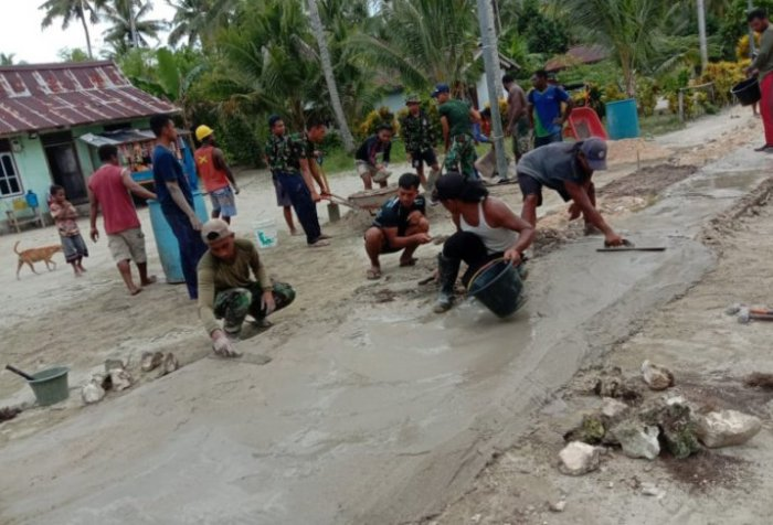 Navy conducts community service