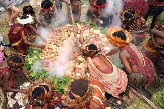 stone burning ceremony
