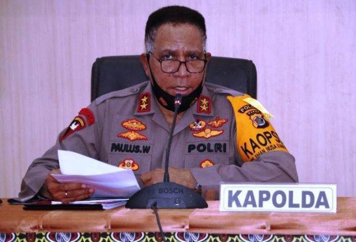Political neutrality of Papua police