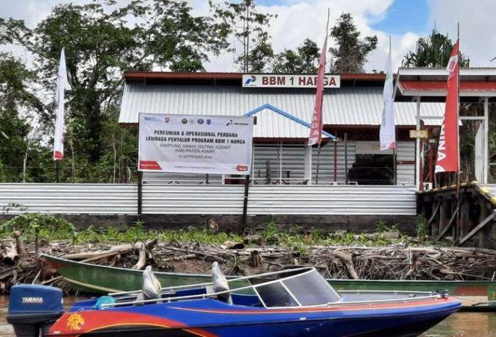 One Price Fuel (BBM) in Papua