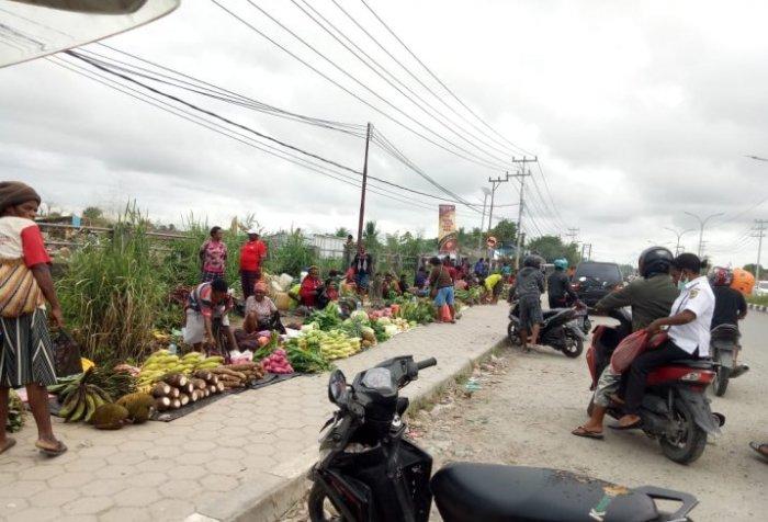 Timika Jaya Market