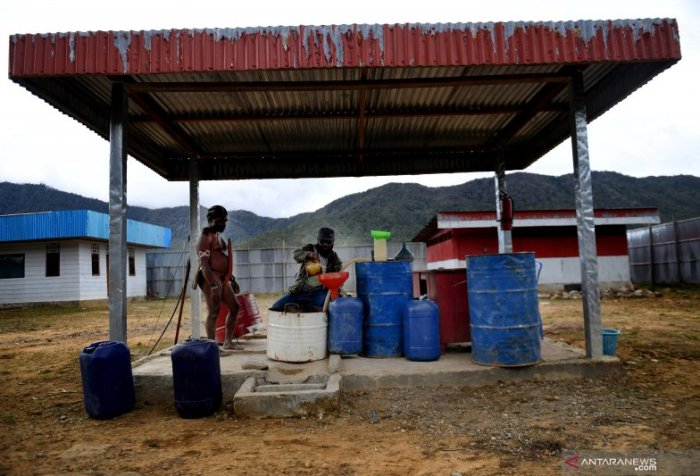 Gas stations in Asmat Papua