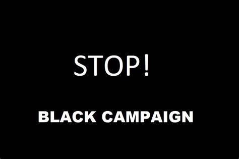 Genocide Black Campaign