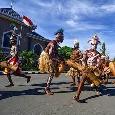 West Papua Wor Dance