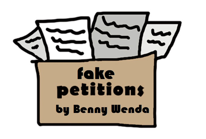 West Papua Fake Petition