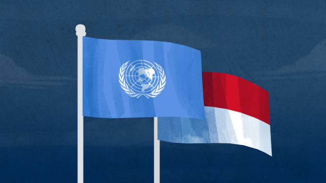Unwavering UN support for Indonesia