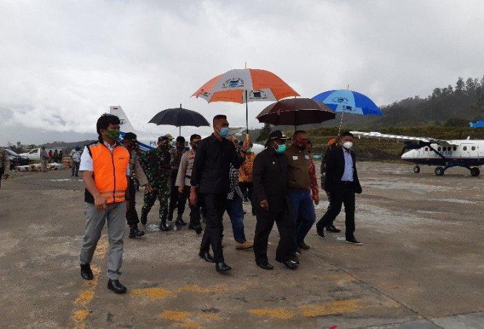 DPR-RI visited Puncak Regency